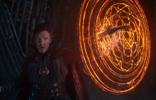 Doctor Strange en Vengadores: Infinity War