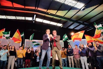 """Ortiz (PP) pide """"ambición"""" a la provincia de Cádiz y señala como """"fundamental"""" las """"ideas claras y una buena gestión"""""""
