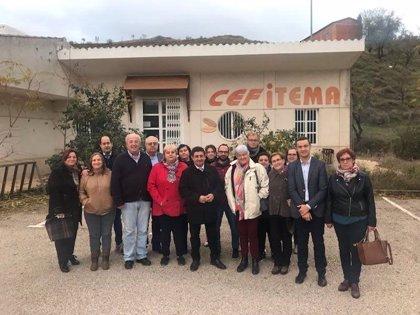 Las instalaciones de Cefitema, en Huelma (Jaén), se convertirán en un centro especial de empleo de Aprompsi