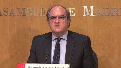 """Gabilondo cree que en Madrid no hay """"un compromiso presupuestario contundente"""" para luchar contra la violencia machista"""