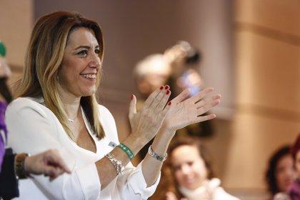 Susana Díaz agradece a Sánchez su compromiso en defensa del Campo de Gibraltar en el acuerdo del Brexit
