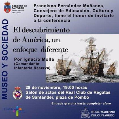 El Museo Marítimo organiza la charla 'El descubrimiento de América, un enfoque diferente'