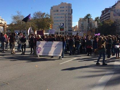 Las mujeres asesinadas por violencia machista y la erradicación del patriarcado centran la manifestación 25N en Palma