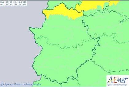El norte de Cáceres tendrá este lunes aviso amarillo por vientos que podrían llegar a los 80 kilómetros por hora