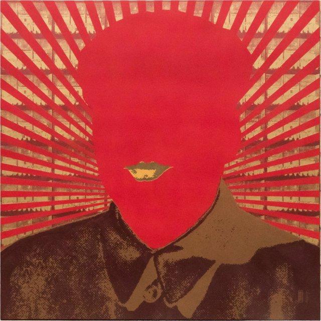 La obra 'Pensamiento rojo', de Alfredo Márquez