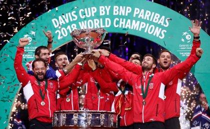Croacia desbanca a Francia y conquista su segunda Copa Davis