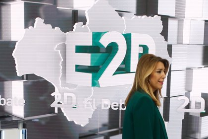 Susana Díaz volverá a hacer un paréntesis este lunes en actos públicos de campaña para preparar el debate de RTVE