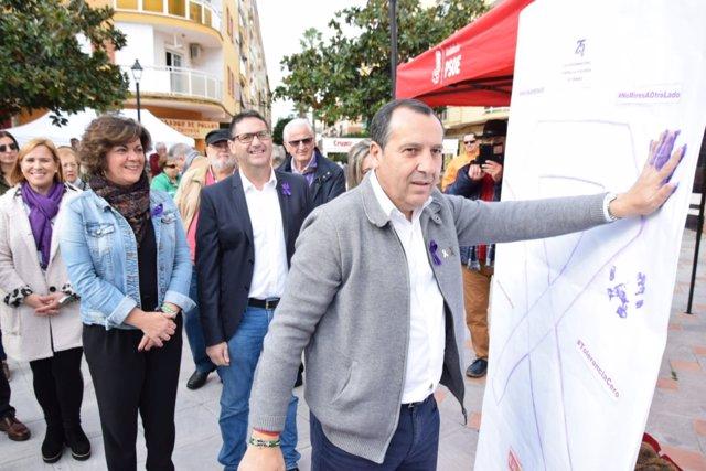 Ruiz Espejo (PSOE) en Rincón de la Victoria