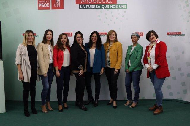 Socialistas de Jaén defienden la igualdad
