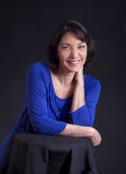 La escritora cubano-estadounidense Daína Chaviano