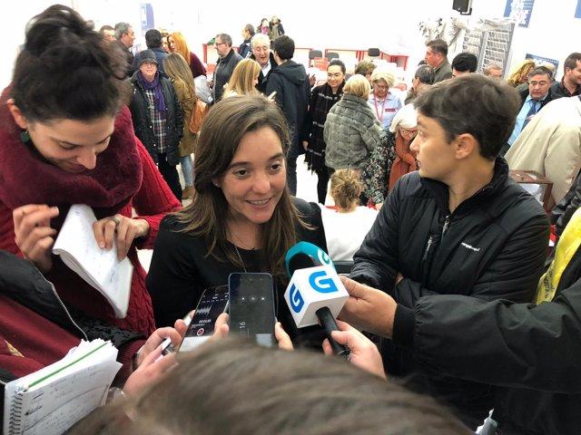Inés Rey, candidata del PSdeG-PSOE a la Alcaldía de A Coruña