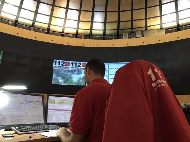 Centro de emergencias 112 Comunidad de Madrid