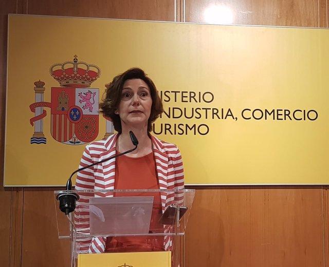 La secretaria de Estado de Turismo, Isabel Oliver