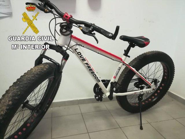 Bicicleta recuperada