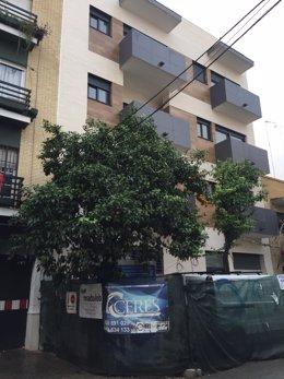 Nuevo edificio en la calle Rico Cejudo.