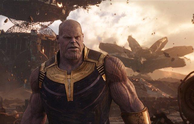 Thanos en Titán
