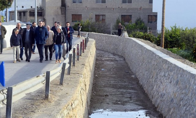 Visita consejero y Ballesta acequias Barreras y Aljufía