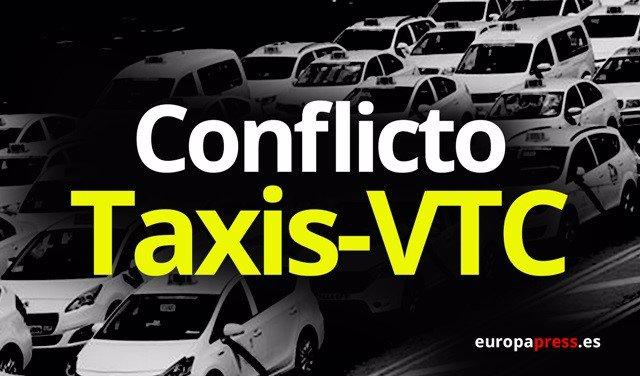 Resultado de imagen de conflicto taxis