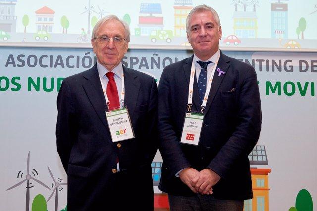 Agustín García y Pablo Altozano