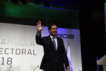 """Garamendi dice que los empresarios """"agradecen"""" el viaje de Sánchez a Cuba y pide consenso en política exterior"""