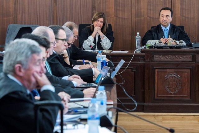 Continúa en Sevilla el Juicio de los ERE con el turno de las defensas de los acu