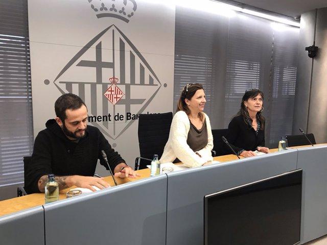 Albert Sales, Laia Ortiz y Mon Rovira