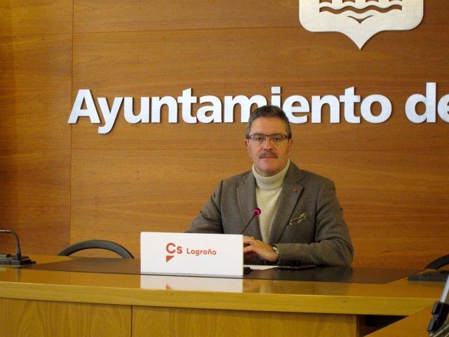 Julián San Martín, En La Rueda De Prensa