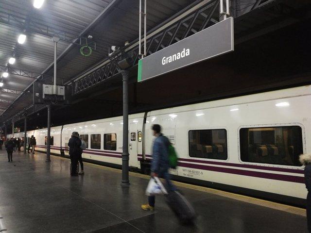 Salida del Talgo a Madrid