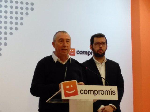 Joan Baldoví y Ignasi Candela
