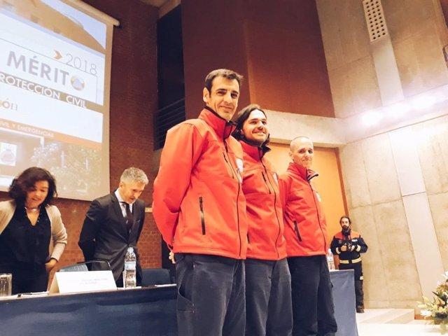 El equipo de comunicación de Emergencias 112 recibe la Medalla al Mérito