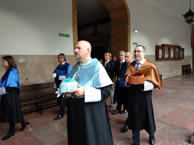 Celebración de la festividad de Santa Catalina de Alejandría en la Universidad