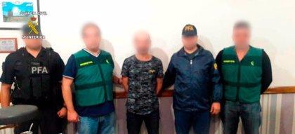 Una jueza ordena prisión para el detenido en Argentina por matar a su pareja en Castellón (España)
