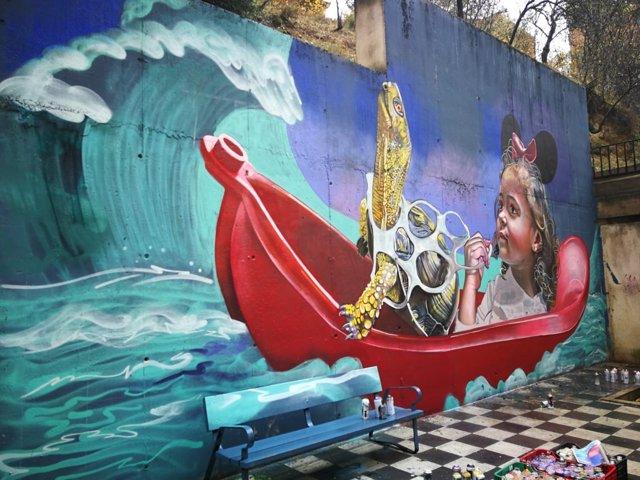 Graffiti ganador de Cuenca