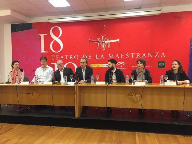 Pedro Halffter presenta 'El dictador' y 'El emperador de la Atlántida'