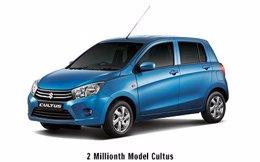 Dos millones de vehículos fabricados por Suzuki en Pakistán