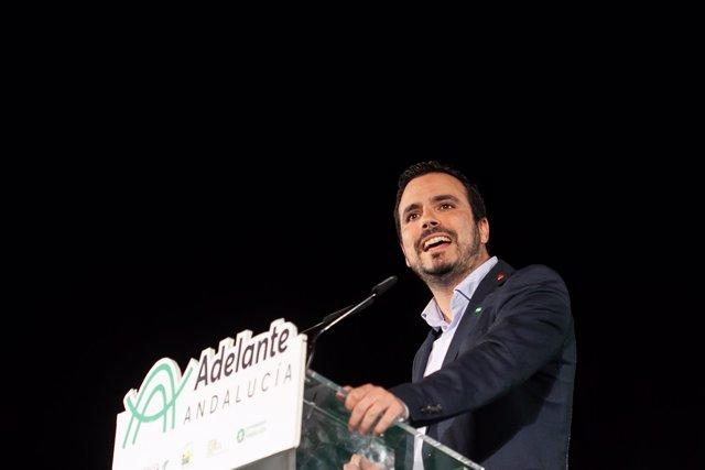 Aacto público de los candidatos de Adelante Andalucía a la Presidencia y la Vice