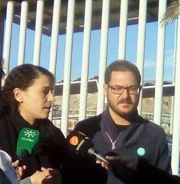 Los candidatos al Parlamento de Adelante Andalucía por Almería