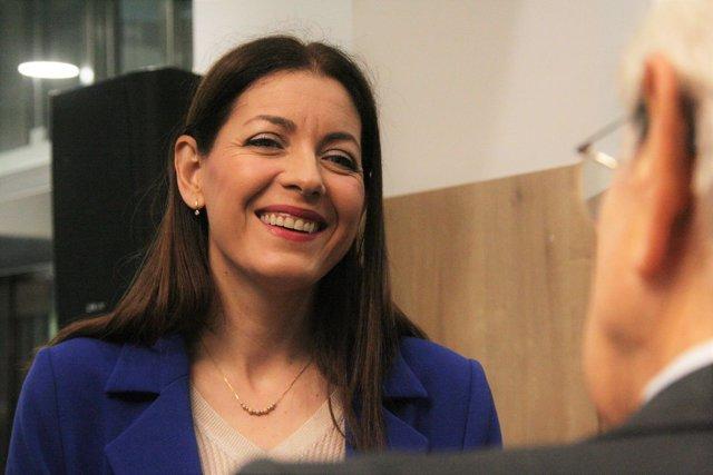 La consejera de Políticas Sociales de la Comunidad de Madrid, Lola Moreno