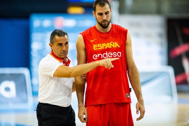Pablo Aguilar Sergio Scariolo selección española baloncesto