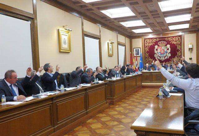 Pleno de la Diputación de Ávila, 26-11-18