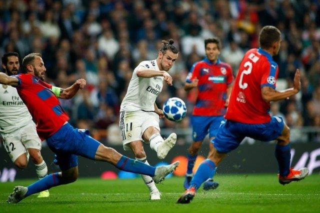 Gareth Bale Isco Real Madrid Viktoria Plzen