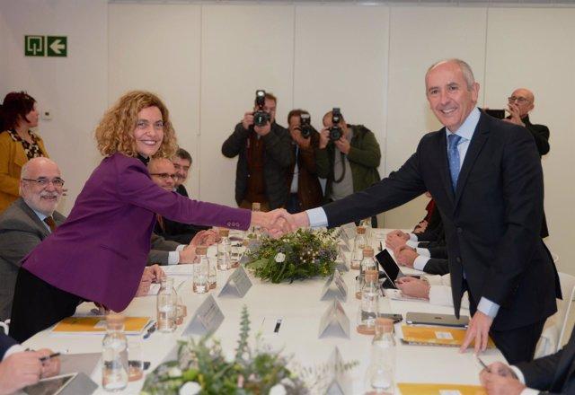 Reunión de la Comisión Mixta de Transferencias Territoriales en Bilbao