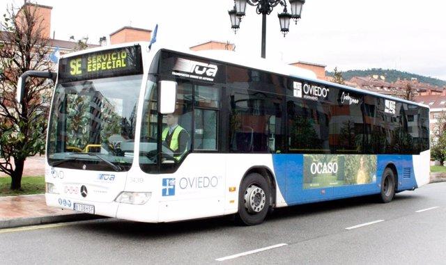 Autobús urbano Oviedo, TUA