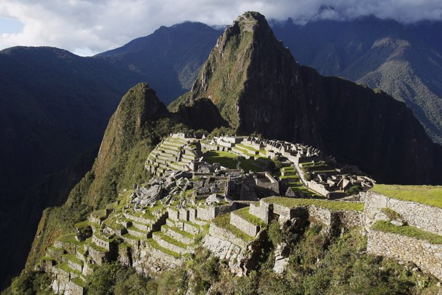 A general view of the Inca citadel of Machu Picchu is seen in Cusco December 2,
