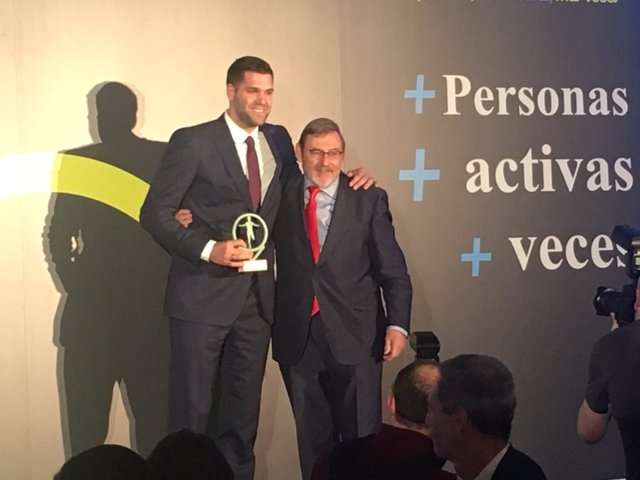 Felipe Reyes Jaime Lissavetzky Premios España Activa