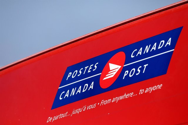 El servicio postal canadiense 'Canada Post'.