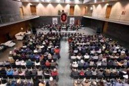 Imagen de un concierto en el Parlamento.
