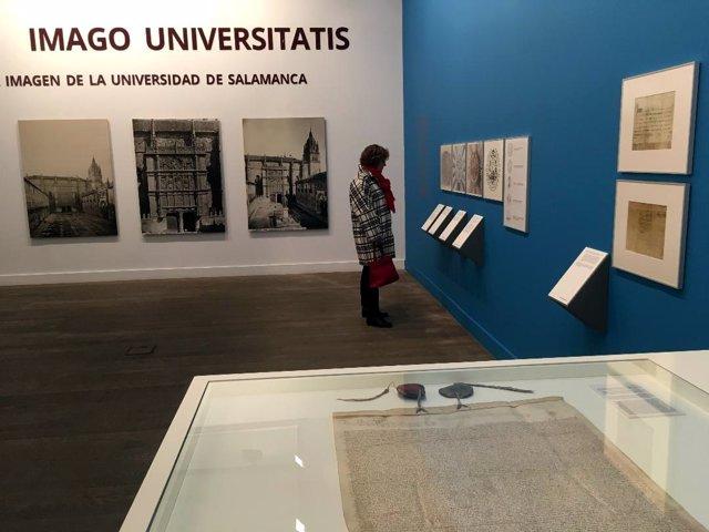 Exposición 'Imago Universitatis' en la Hospedería Fonseca de Salamanca.