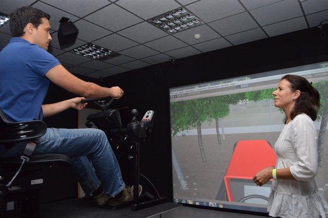La UPCT aplica realidad virtual para formar en desalojo de edificios