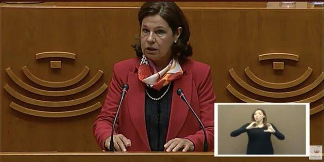 La consejera de Hacienda, Pilar Blanco-Morales